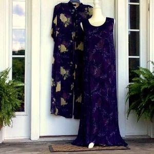 Beautiful Vintage Maxi Dress